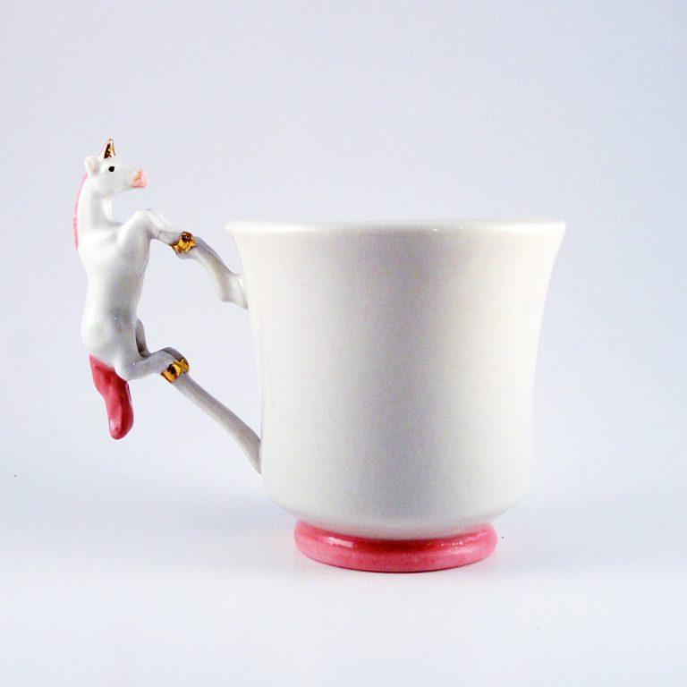 Earthlings Unicorn Teacup Cup