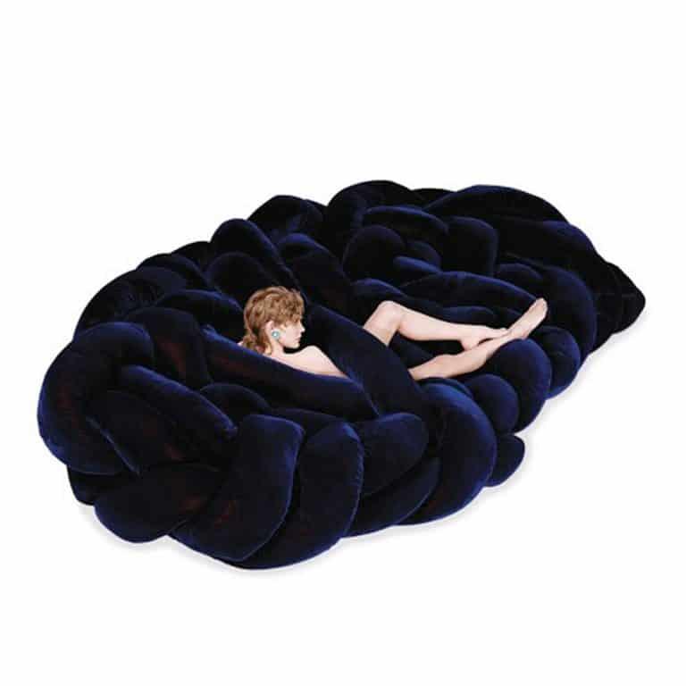 Edra Boa Sofa Soft Woven Nest
