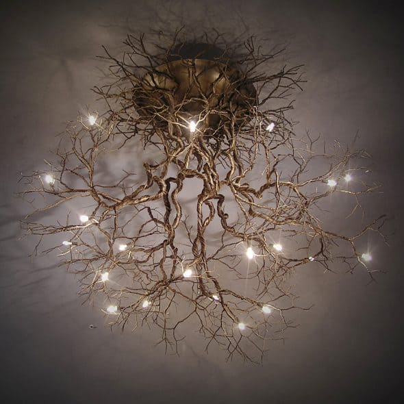 FM FOS Root Chandelier Living Room Lighting