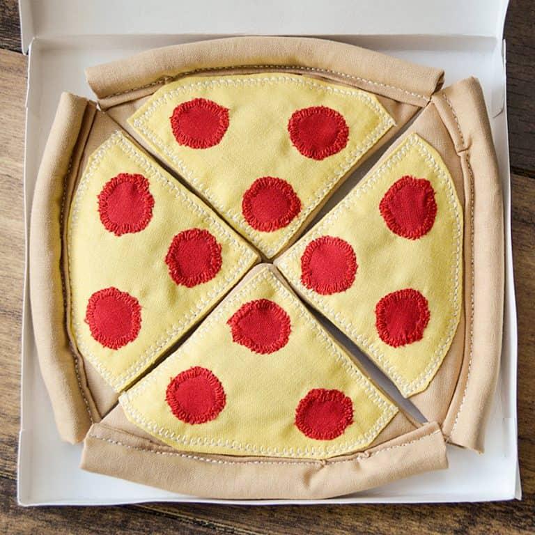 Fanti Catnip Pizza Toy