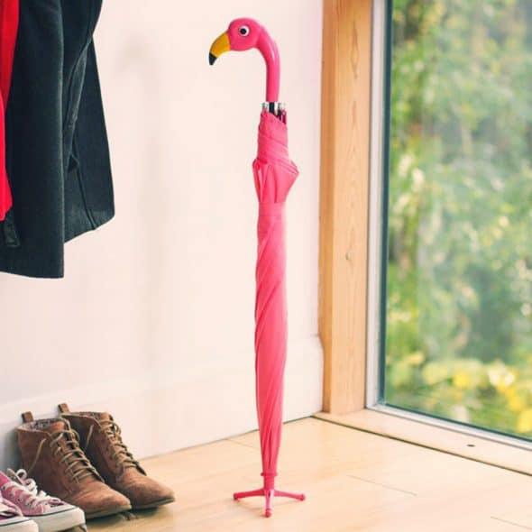 Flamingo Umbrella Three Toed Stand