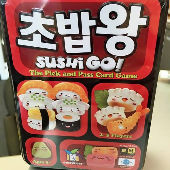 Gamewright Sushi Go! The Pick and Pass Card Game Cards