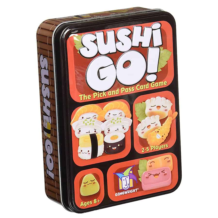 Gamewright Sushi Go! The Pick and Pass Card Game Indoor Activity