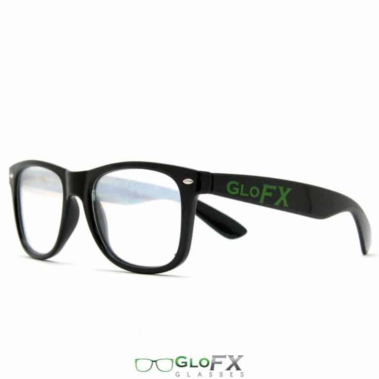 GloFX Ultimate Diffraction Glasses Black