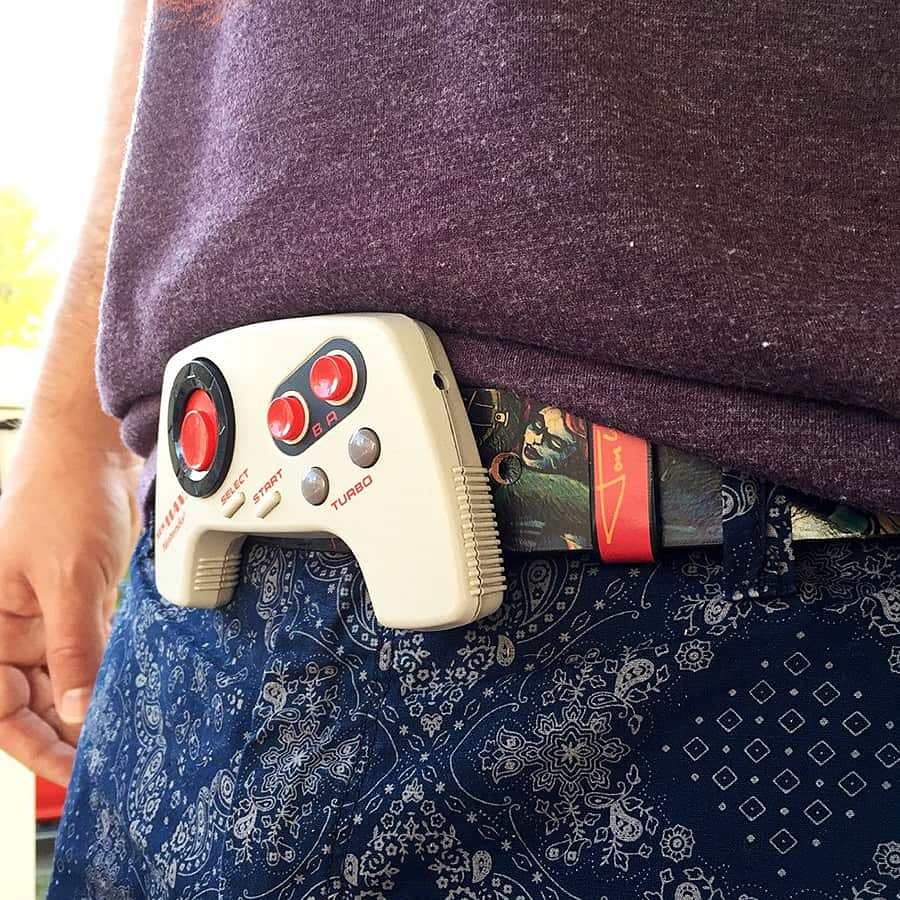 Happily Ever Moore Nintendo MAX Controller Belt Buckle Fashion Product