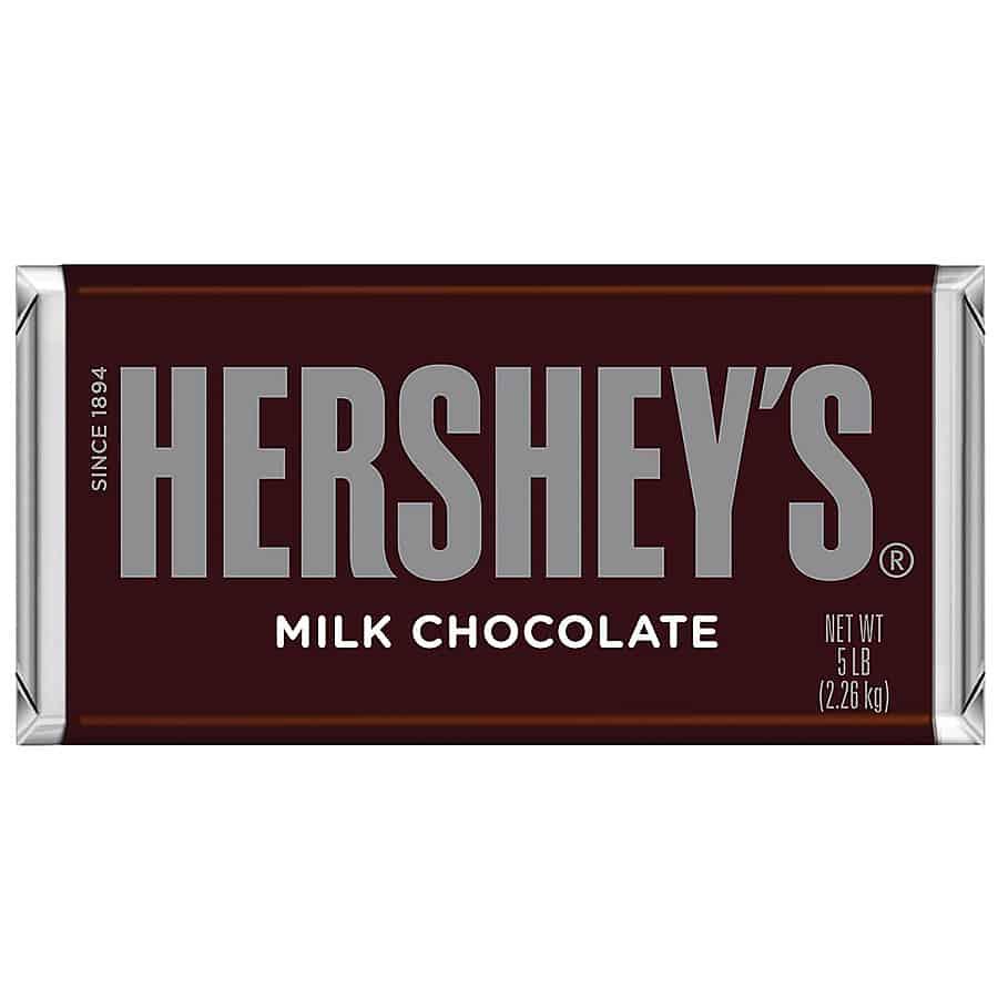Hershey's 5 Pound Milk Chocolate Bar - NoveltyStreet
