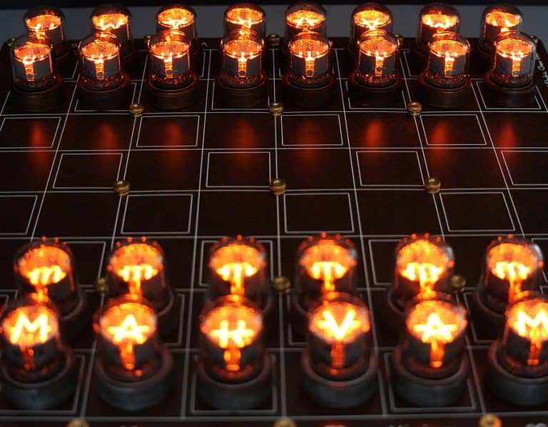 Lasermad Nixie Chessboard Indoor Activity