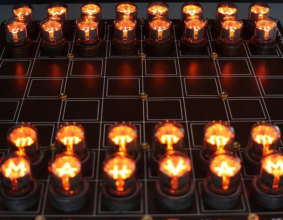 Lasermad Nixie Chessboard Indoor Activity