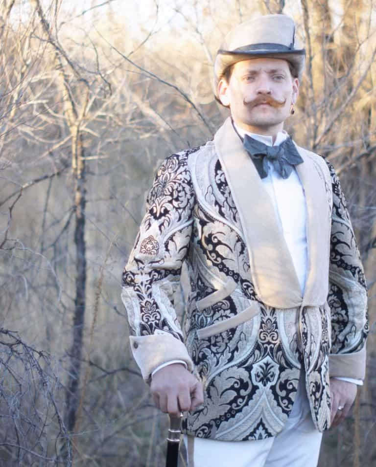 Machete N Sons Brocade Dinner and Smoking Jacket Fashion Item