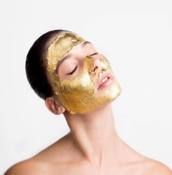 Mimi Luzon 24k Pure Gold Treatment Cool Luxury Face Mask