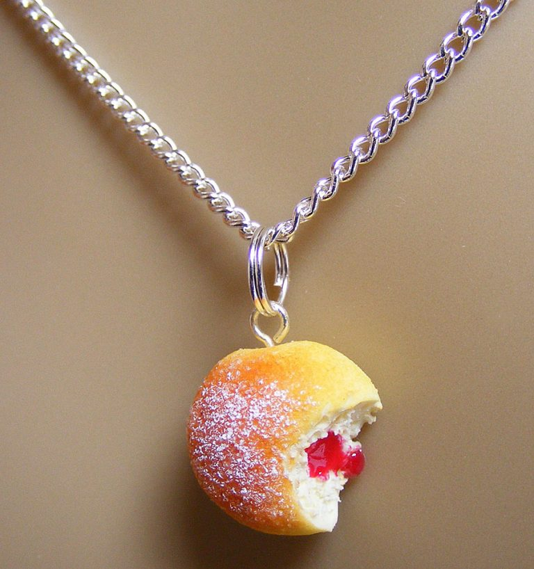 NeatEats Jelly Donut Necklace Accessory