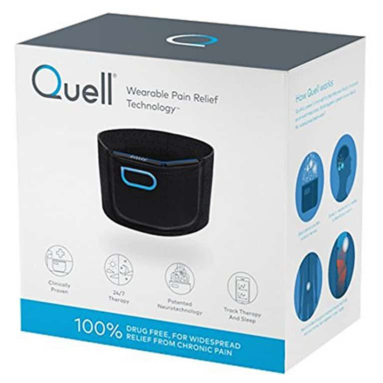 Quell Wearable Pain Relief Starter Kit FDA Cleared