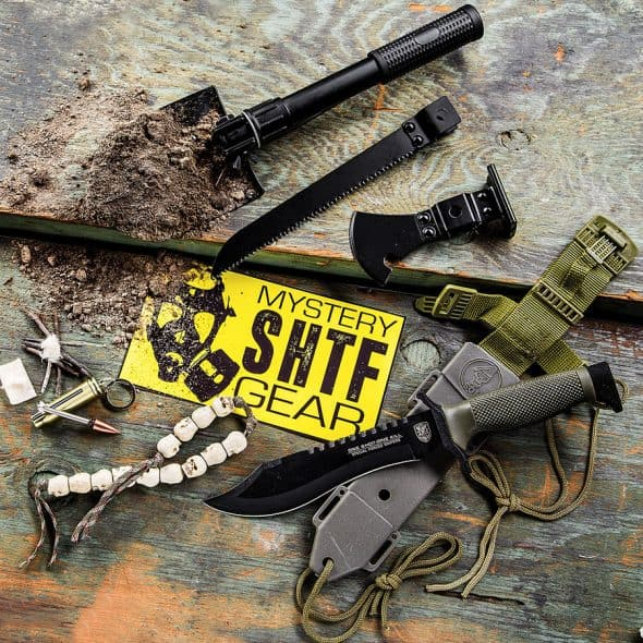Survival and prepper gear subscription.