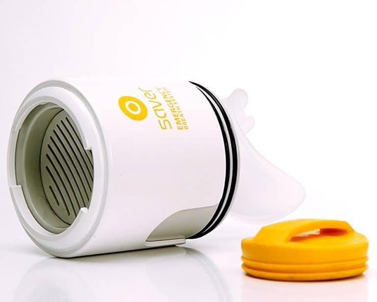 Safety iQ Saver Emergency Breath System Smoke Inhalation Prevention