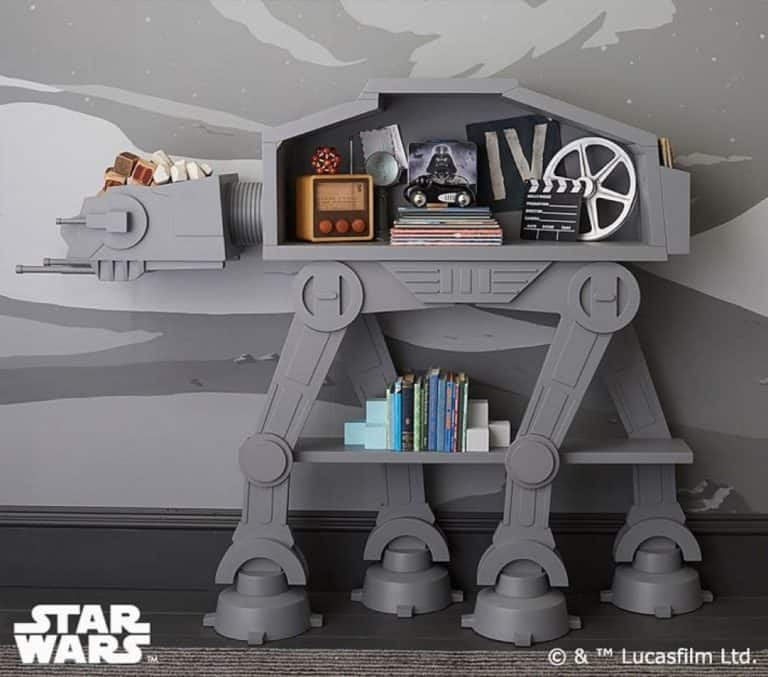Star Wars AT-AT Bookcase Pop Culture Geek Must Have