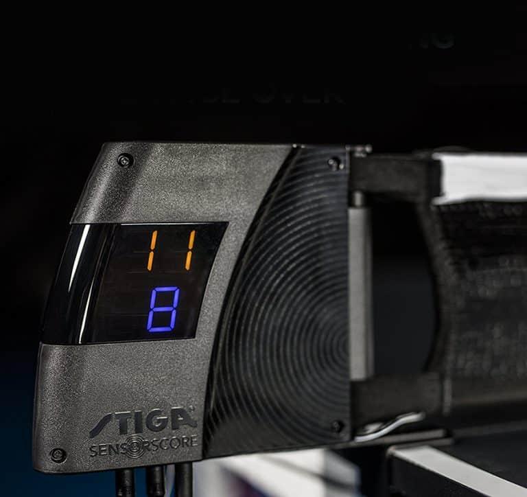 Stiga SensorScore Automated Table Tennis Scoring System Display
