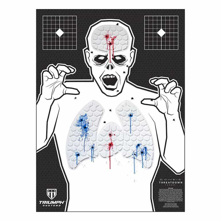 Triumph Systems Threat Down Zombie Silhouette Target