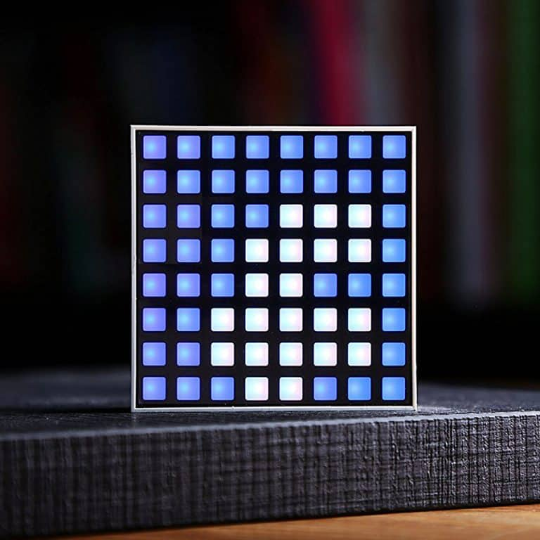 Witti Dotti Smart Pixel Art Light with Notifications for Smartphones Facebook Notification