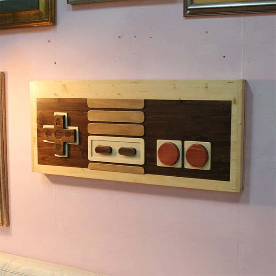 Artem Faber Design Nintendo Coffee Table Wall Art Decoration