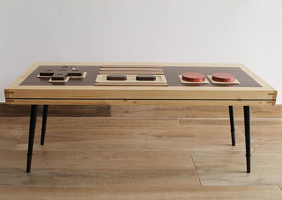 Artem Faber Design Nintendo Coffee Table Wall Art Handcrafted