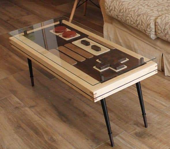 Artem Faber Design Nintendo Coffee Table Wall Art Tables