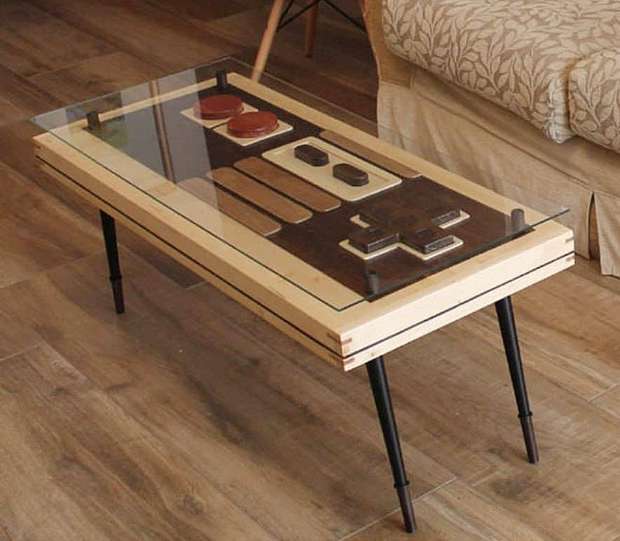 Artem Faber Design Nintendo Coffee Table Wall Art Tables