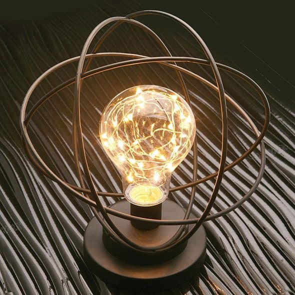 Atomic Age Desk Lamp Desktop Light