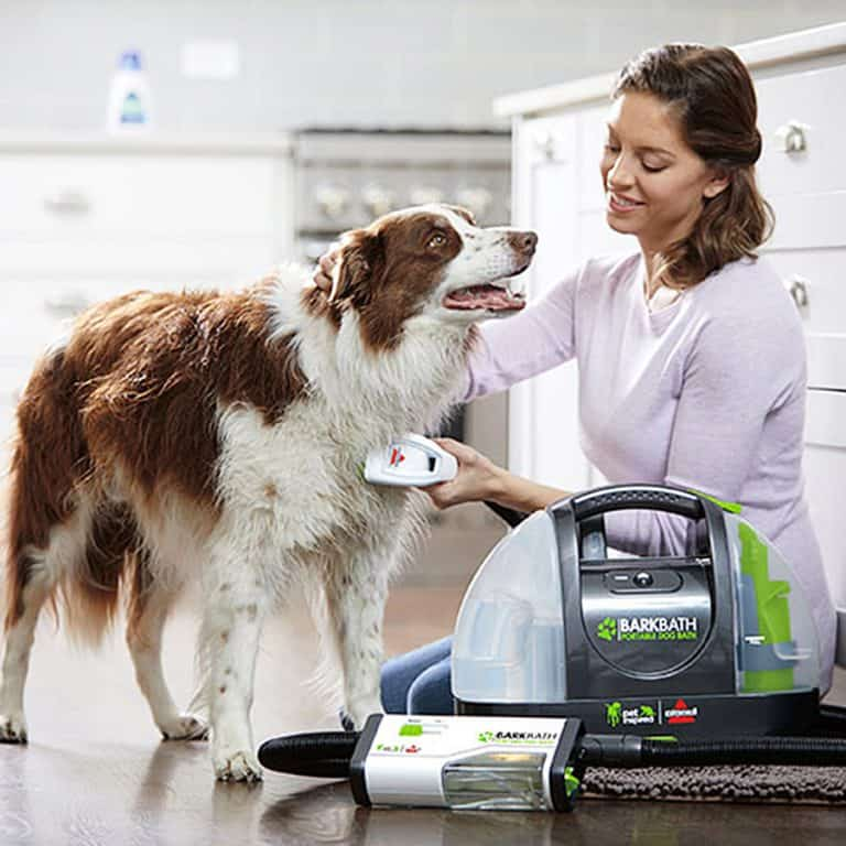 Bissell BarkBath Portable Dog Bath System Pet Cleaner