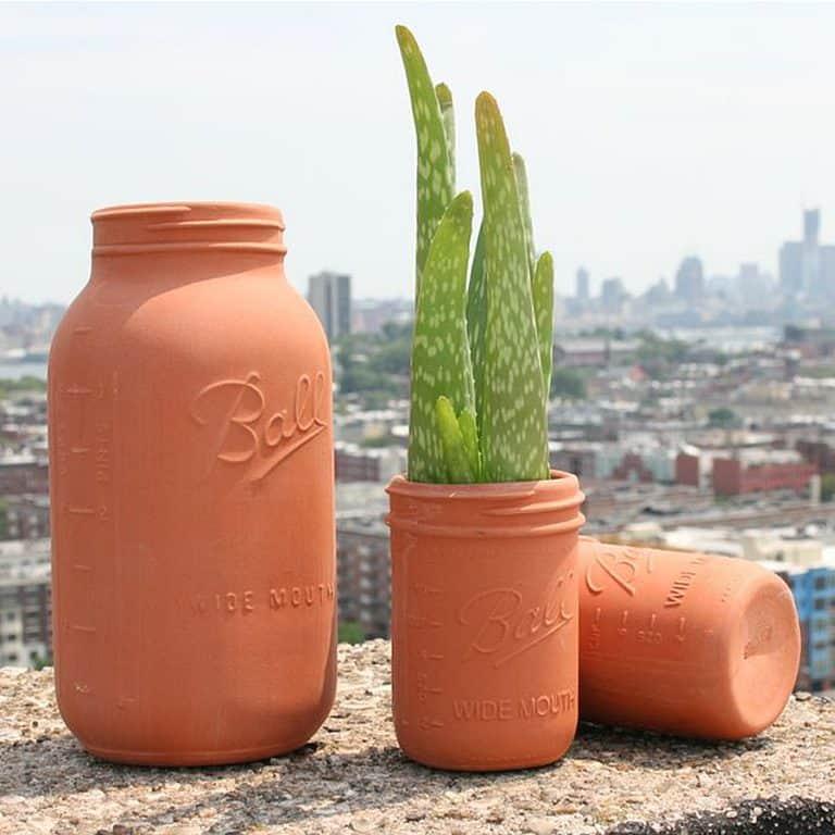 CAM Design Co. Terracotta Mason Jars Furnitures