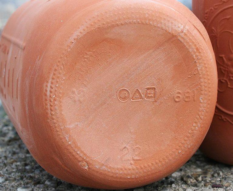 CAM Design Co. Terracotta Mason Jars Hand Poured