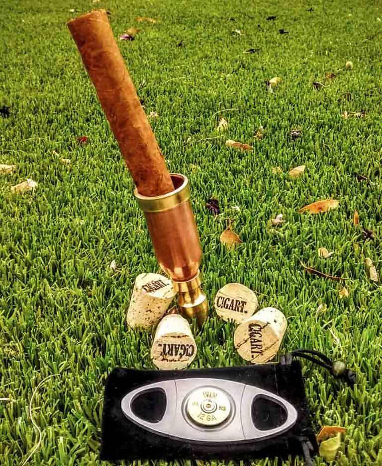 Cigart Metalworks Ultimate Golf and Cigar Package Holder