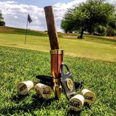 Cigart Metalworks Ultimate Golf and Cigar Package Metalwork