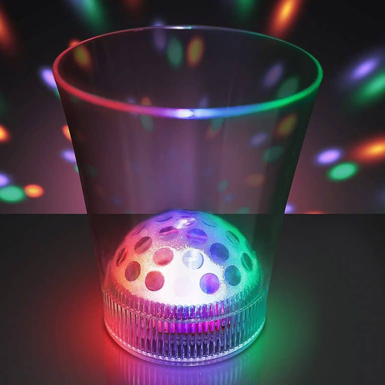 Disco Ball Light Projecting LED Cup Party Products