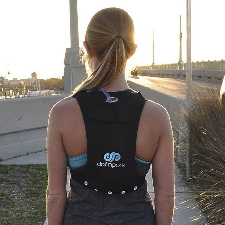 DolfinPack Extreme Sports Hydration Pack Form Fitting