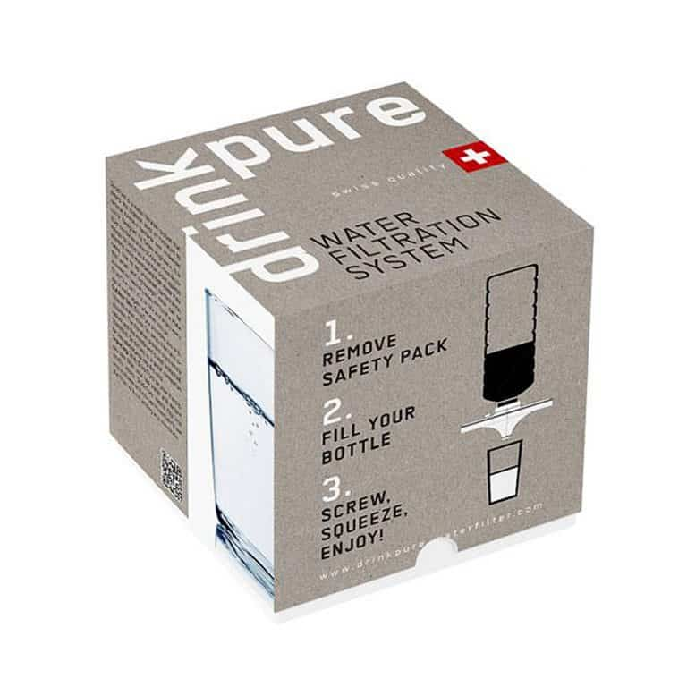 DrinkPure Water Filter Package Portable