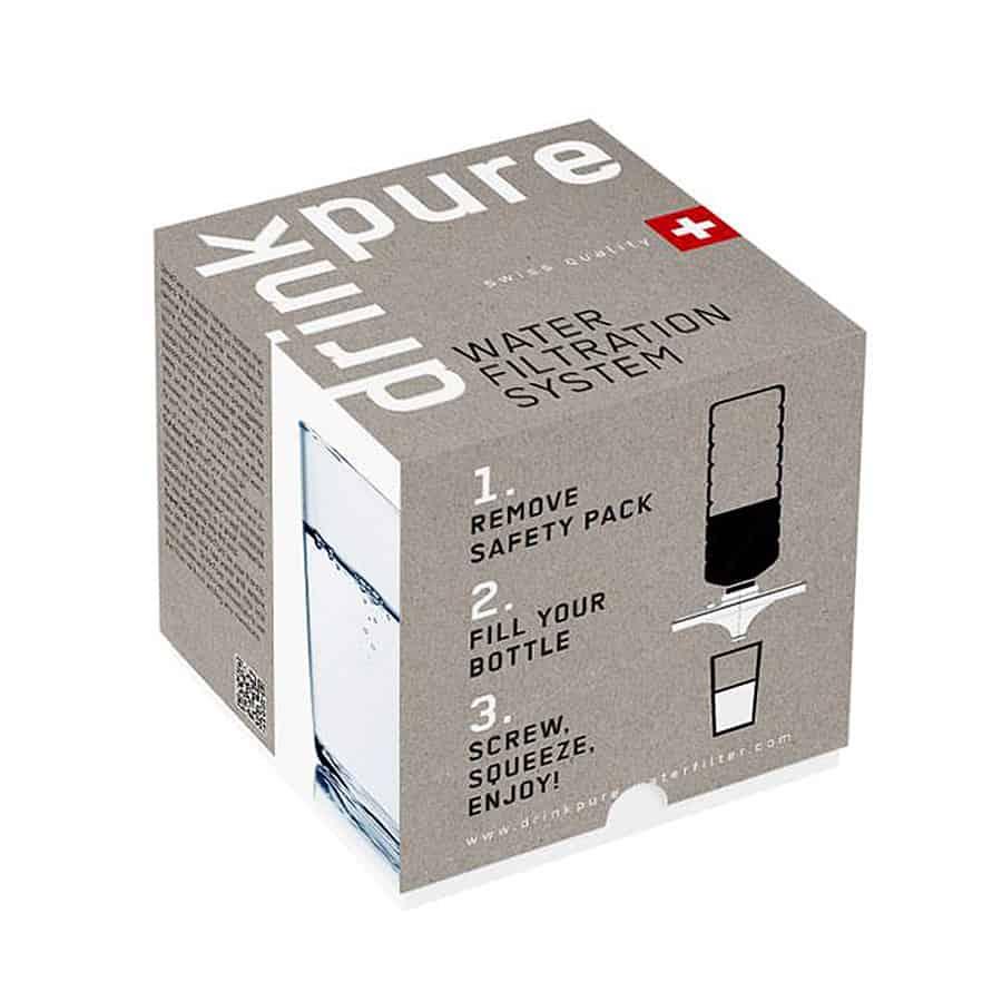 DrinkPure Water Filter Package Portable