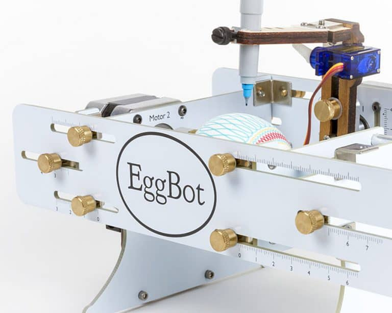 Evil Mad Scientist The Original Egg-bot Kit Deluxe Edition Robot