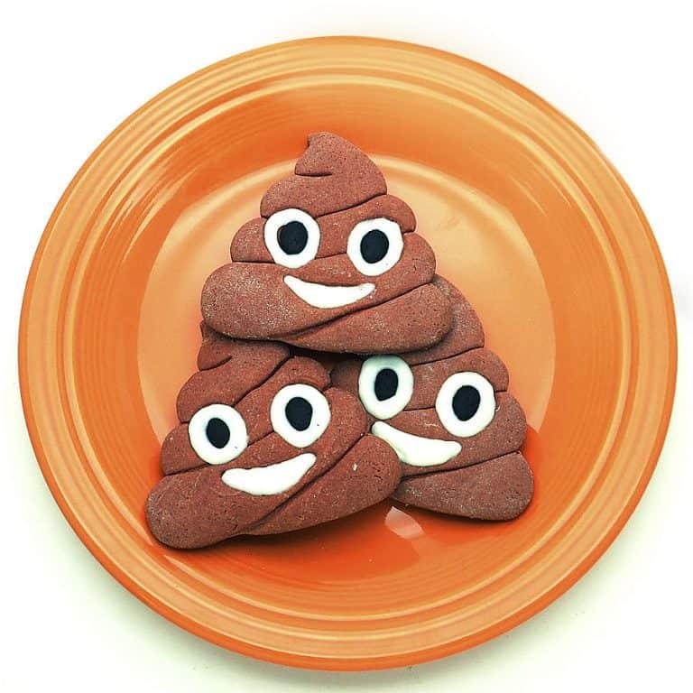 F4M Poop Emoji Cookie Cutter Cookies