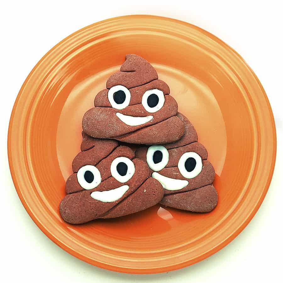 Make a plate full of poop.