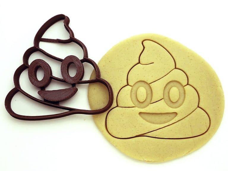 F4M Poop Emoji Cookie Cutter Food Safe Materials