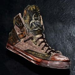 Sneakers fit for the end of the world.