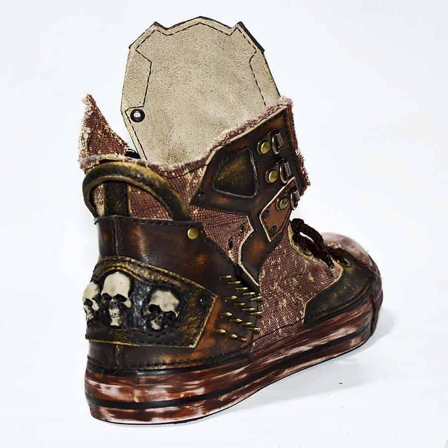 Family Skiners Custom Biohazard Sneakers Sneaker
