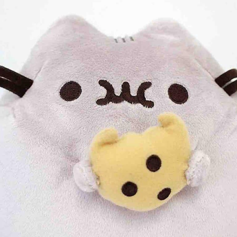 Gund Pusheen Plush with Cookie Stuffed Animal