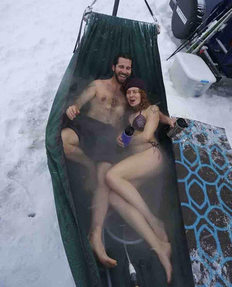 Hydro Hammock Hot Tub
