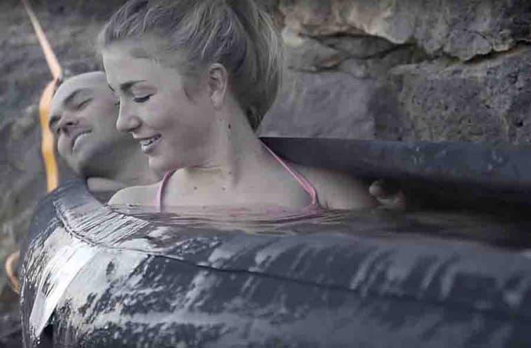 Hydro Hammock Swinging Pool