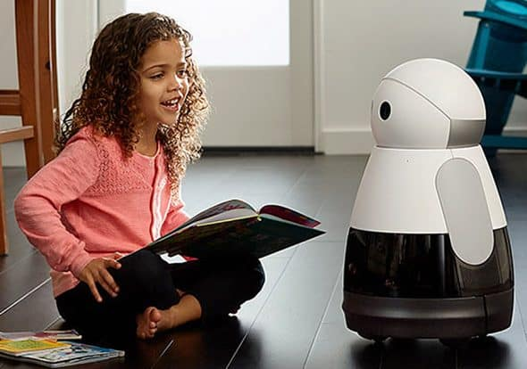 Kuri Home Robot Voice Controlled