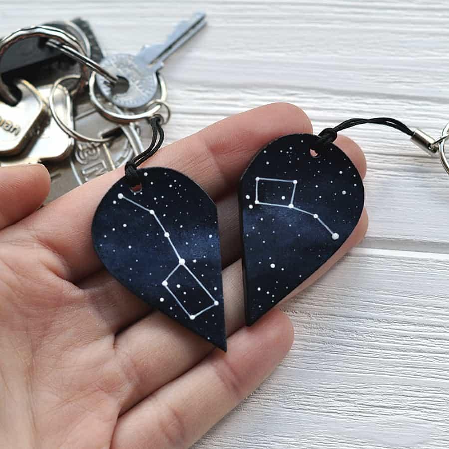 Magic Twirl Big dipper + Little dipper Keychains Acrylic Paints