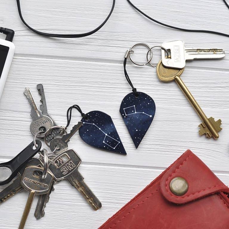 Magic Twirl Big dipper + Little dipper Keychains Keychain