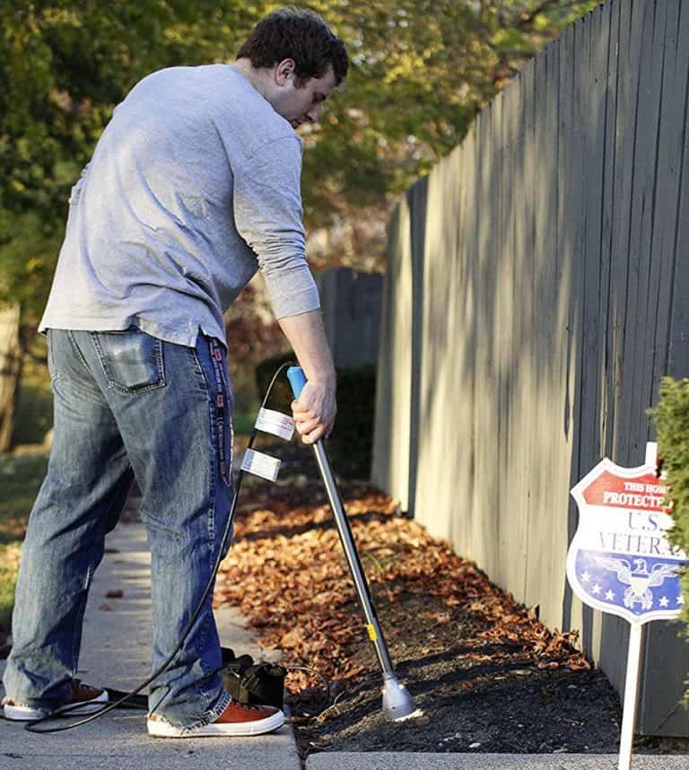 NatureZap DE Cordless Weed Remover