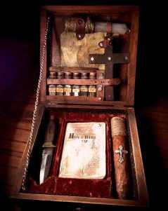 Vampire hunter essential kit.
